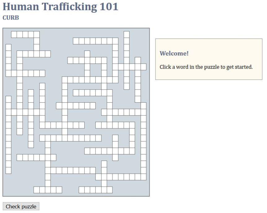 HT101 crossword